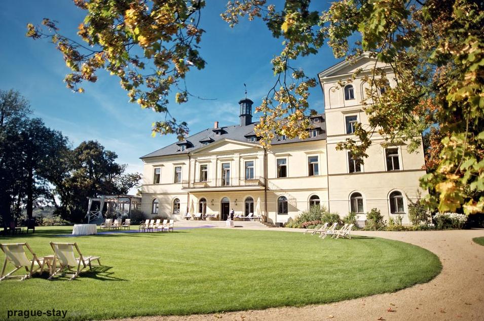 Prague Chateau Mcely wedding venue