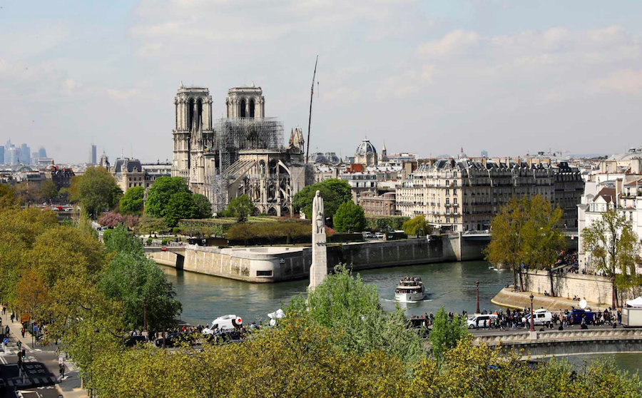 f7ae511a3f99 Air France Is Offering Free Flights to Paris for Those Helping Rebuild  Notre Dame