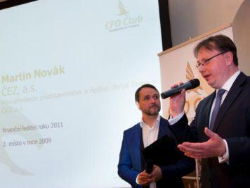 84247859c Martin Novák, CFO, ČEZ – winner of the CFO of a Decade at his speech