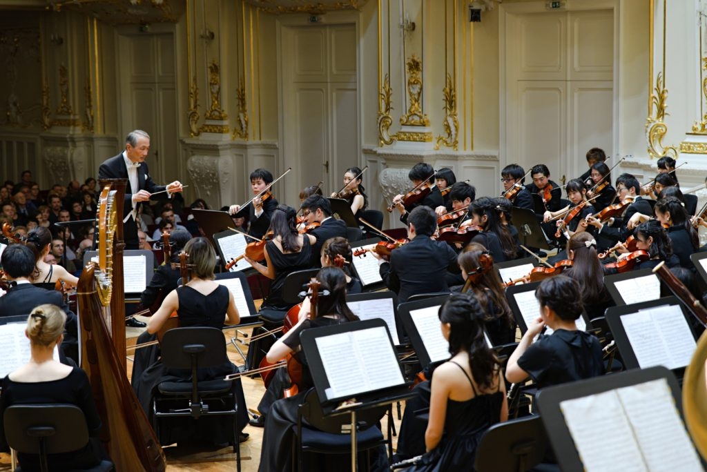 Doshisha University Orchestra (Japan) in the Reduta Hall, Bratislava, Photo By: Michal Gschwandtner