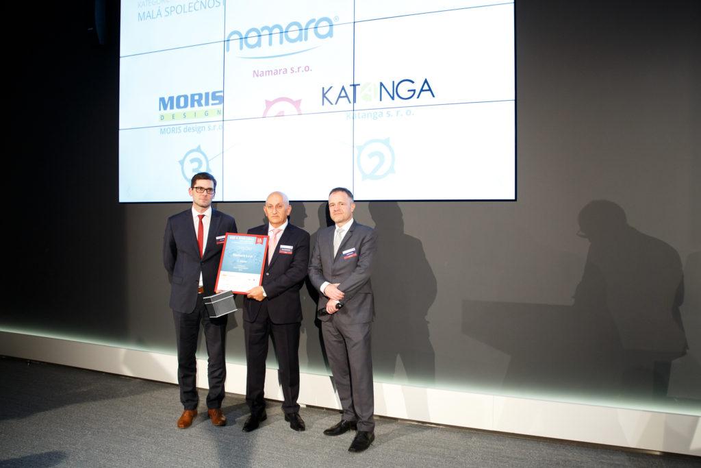 CEO společnosti Namara s.r.o. Elie Abdulnou (uprostřed)