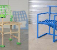 Do charitativní aukce jde 19 extravagantních židlí od 19 slavných designerů