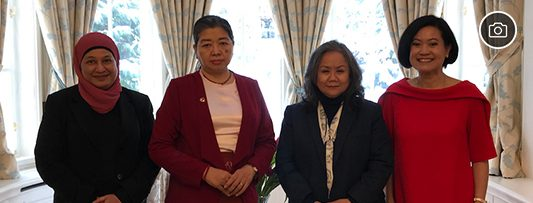 Pictures from a Farewell Luncheon hosted by the Ambassador of Thailand to the Ambassador of Myanmar