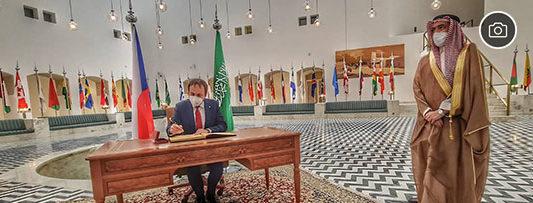 Foreign Minister Jakub Kulhánek visits United Arab Emirates and Saudi Arabia